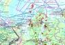 """Карта """"Арктическая зона Российской Федерации: минеральные ресурсы, реализация проектов, развитие транспортной и логистической инфраструктуры"""""""