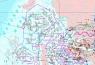 """Карта """"Нефть и природный газ Арктических морей Российской Федерации и прилегающей суши """""""