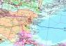 """20. Карта """"Трубопроводные системы Каспийско-Черноморского региона"""" NEW!"""