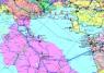 """28. Карта """"Нефтегазовая промышленность СНГ и государств  Европы"""""""