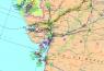 """31. Карта """"Нефтегазовая промышленность государств Евразии"""""""
