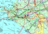 """32. Карта  """"Территория деятельности КТК""""   (Каспийского трубопровода)"""