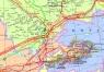 """33. Карта """"Нефть и газ Средней Азии и Казахстана"""""""