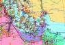 """35. Карта  """"Нефть и газ Ближнего Востока"""""""
