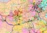 """37. Карта """"Нефтегазовая промышленность Китая и Монголии"""""""