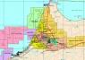 """41. Карта """"Нефтегазовая промышленность Марокко"""""""