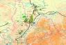 """3. Карта """"Газовая промышленность Восточной Сибири и Дальнего Востока"""""""