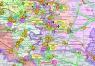 """1. Карта """"Электроэнергетика России и стран ближнего зарубежья """" (с ТГК, ОГК, РС, ОЭС)"""