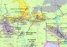 """10. Карта """"Угольная промышленность России и стран ближнего зарубежья """""""