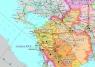 """2. Карта """"Электроэнергетика Российской Федерации"""" (с МЭС, ПМЭС)"""
