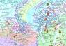 """9. Карта """" Проекты нефтегазодобычи на континентальном шельфе Российской Федерации"""""""